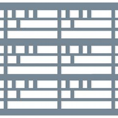 Decorative Lattice Designer Panel - Wright Pattern - Twilight