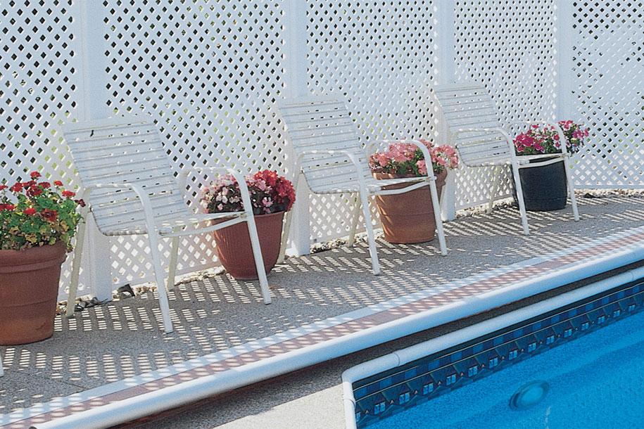 Grid Axcents decorative lattice privacy panel